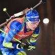 Динара Алимбекова и Антон Смольский заняли 8 место в масс-старте Рождественской гонки