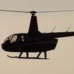 Полицейский вертолет разбился посреди рисового поля в Японии