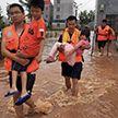 Масштабное наводнение в Китае: 700 тысяч человек в зоне риска