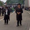 Сотни паломников-хасидов застряли на белорусско-украинской границе