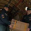 Средства защиты и линия по производству респираторов прибыли из Китая в Беларусь