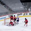 «Нью-Джерси Дэвилс» с Егором Шаранговичем в составе проиграл «Вашингтону» в чемпионате НХЛ