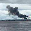 Крупный пожар напугал жителей английского графства Честер