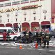Серьёзная авария возле минского ЦУМа: столкнулись маршрутка и две легковушки