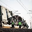 Два поезда столкнулись в Дании: шесть человек погибли