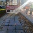 В Витебске мужчина упал под трамвай. От травм он скончался