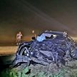 Смертельное ДТП под Слуцком: легковушка превратилась в груду металла из-за столкновения с автопоездом