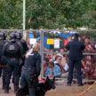 Очередной бунт мигрантов в палаточном лагере в Литве: полиция применила силу