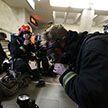 МЧС провело ночные учения в метро Минска (ФОТО)