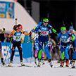 Сборная Беларуси заняла второе место в женской эстафете на этапе КМ по биатлону в Оберхофе