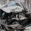 Авария в Быховском районе: столкнулись легковушка и грузовик (ФОТО)