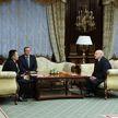 Александр Лукашенко провел встречу с Генпрокурором России Игорем Красновым