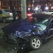 В Минске устанавливают обстоятельства вечерней аварии в микрорайоне Сухарево