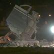 Остатки моста в Генуе ночью снесли рабочие