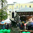 Купаловскому театру 100 лет! В Александровском сквере прошёл пикник к юбилею главной сцены страны