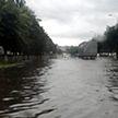 Мощные ливни в Гомеле: улицы превратились в каналы