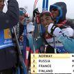 Норвежские лыжники одержали победу в эстафетной гонке на чемпионате мира в Австрии