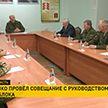 Александр Лукашенко посетил военный полигон под Гродно. Главное