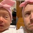 Видео с отцом, который пародирует новорожденную дочь, собрало почти 50 миллионов просмотров