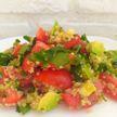 Полезный овощной салат с киноа. Пошаговый рецепт от телеведущей Екатерины Тишкевич