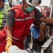 На месте крушения пассажирского самолёта в Индонезии обнаружили обломок шасси
