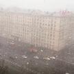 ФОТОФАКТ: на Москву обрушился снегопад