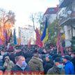 В Киеве митингуют ветераны-афганцы