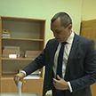 Вице-премьер Беларуси Александр Субботин досрочно проголосовал на выборах Президента