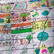 Открытка из детских рисунков площадью 2,5 км появилась в Альпах