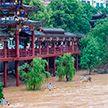 Наводнение в Китае: 7 млн человек оказались в зоне стихийного бедствия