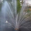 Плавающий фонтан с подсветкой заработал на реке Мухавец в Бресте (ВИДЕО)