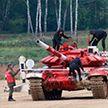 Белорусы заняли второе место в «Танковом биатлоне»