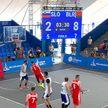 Сборная Беларуси победила команду Словении на старте турнира по баскетболу 3х3 на II Европейских играх