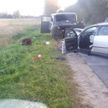 Лобовое ДТП в Полоцком районе: пострадал водитель легковушки