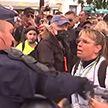 На улицах Франции протестуют против «зеленых паспортов» и принудительной вакцинации