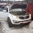 Милиция задержала группу автоугонщиков в Новополоцке (Видео)