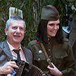 День защитников Отечества и Вооружённых Сил: в МВД мужчин встречали под звуки живой музыки