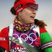 Олимпийская чемпионка по биатлону Надежда Скардино родила сына