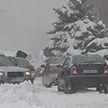 Метель и сильный ветер: Беларусь накрыл циклон «Волкер». Что происходит на дорогах?
