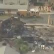 В США упавший вблизи школьного кампуса самолет уничтожил два дома