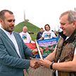 Белорусы Смоленской области устроили автопробег по памятным местам родины