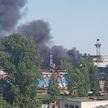 На территории завода МАЗ в Минске произошло возгорание
