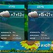Прогноз погоды на 10 июля