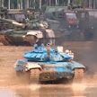Сборная Беларуси не смогла пройти в финал «Танкового биатлона»