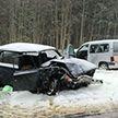 Авария под Новополоцком: две легковушки столкнулись лоб в лоб