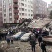 В Стамбуле обрушилось здание
