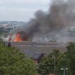 Крупный торговый центр горит в пригороде Лондона