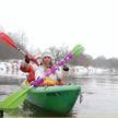 Новогодний сплав по реке прошел в Витебской области