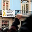 Каталонскія сепаратысты праводзяць у Барселоне страйк: яны перакрылі дарогі і чыгуначныя пуці