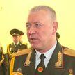 Виктор Гулевич простился со Знаменем войск Западного оперативного командования